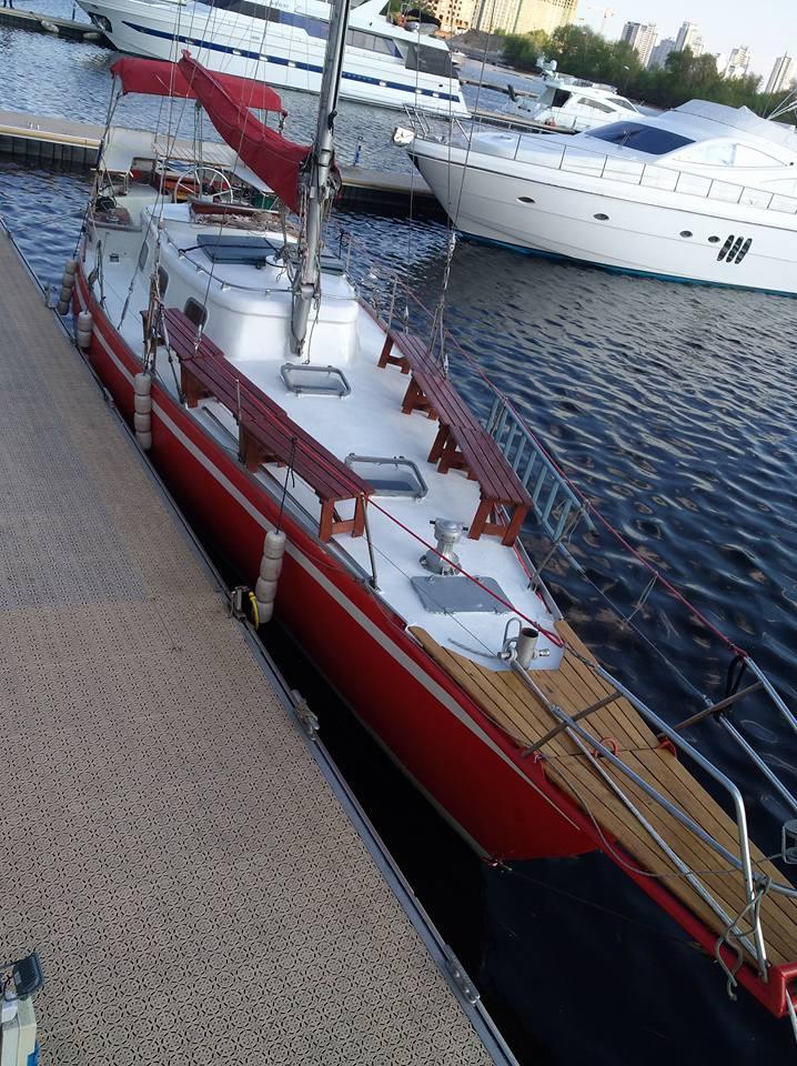 Прокат яхты Киев