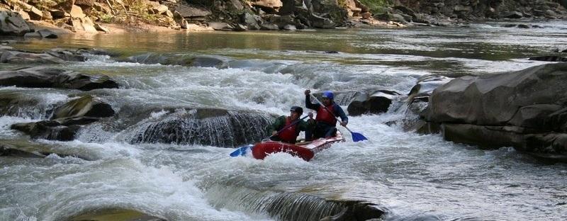 Рафтинг на реке Прут